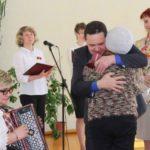 Вручение удостоверений детям погибших защитников Отечества.